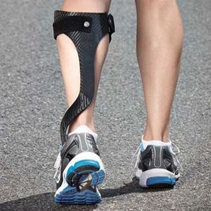 Image of Foot showing custom braces AFO, Socal foot Ankle Doctors, Foot & Ankle Treatments