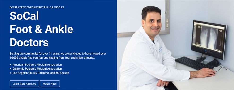 Image of Doctor Dr. Arash Hassid,DPM , Socal Foot Ankle Doctors, Podiatrist Los Angeles