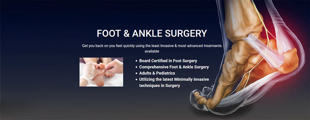 Image of Foot & Ankle Surgery, Socal Foot Ankle Doctors, Foot & Ankle Treatments